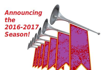 Announcing the 2016-2017 Playhouse Season